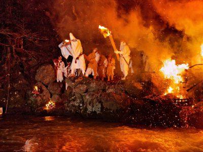 福井・小浜:遠敷川鵜の瀬「お水送り」1泊*ツアー履歴の為、予約はできません。