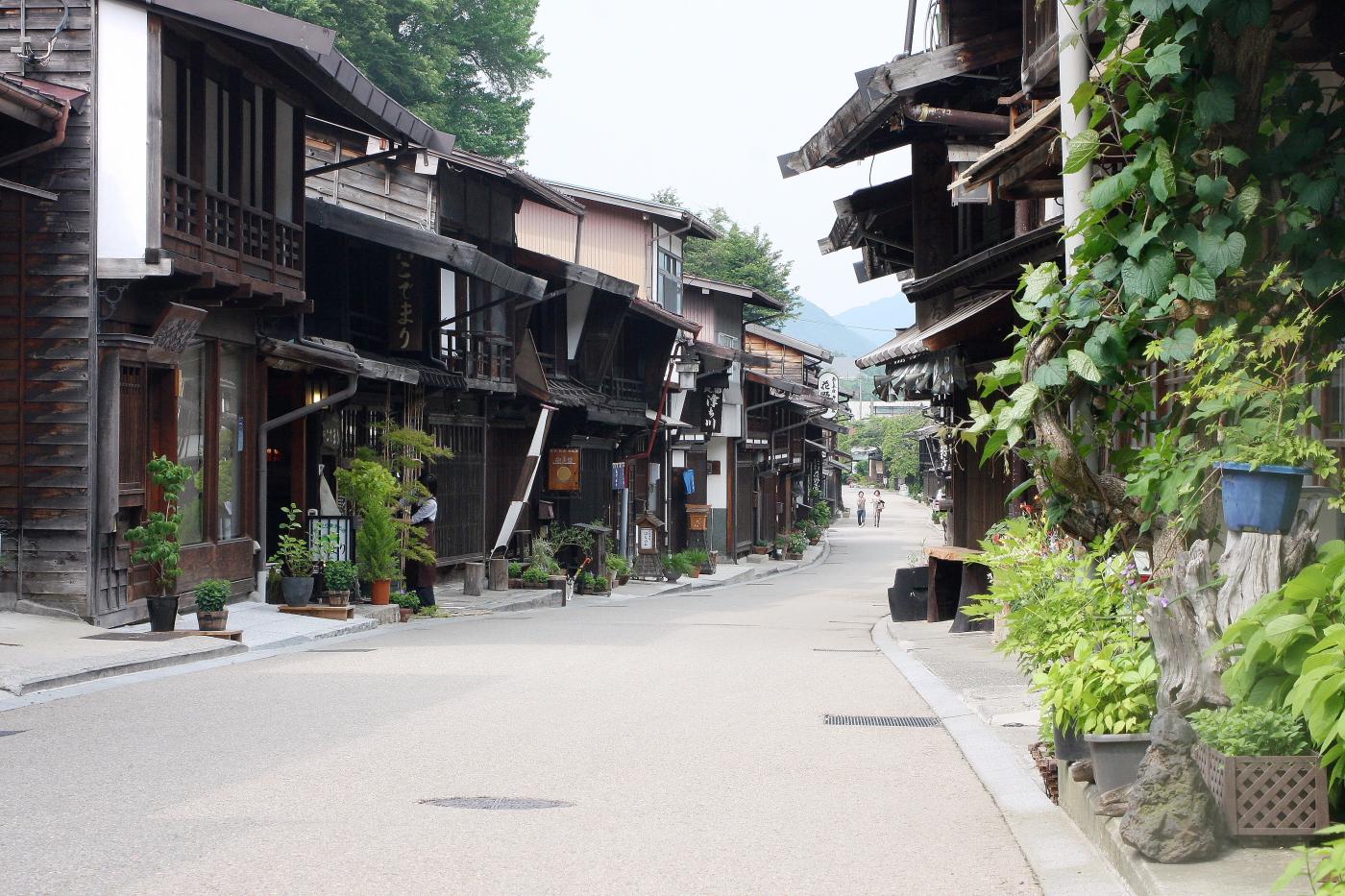 奈良井宿1